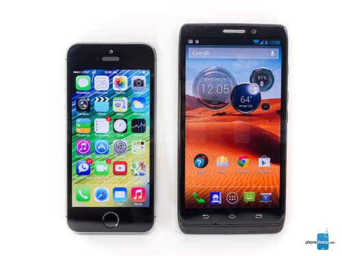Apple iPhone 5s vs Motorola DROID Ultra