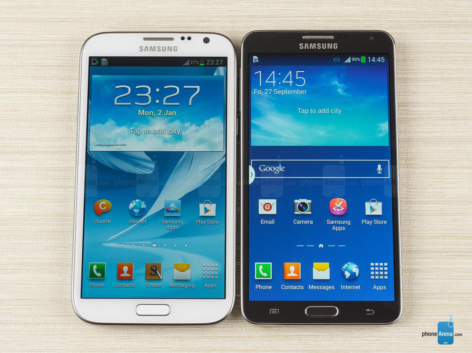 60c5edf74 Samsung Galaxy Note 3 vs Samsung Galaxy Note 2 - PhoneArena