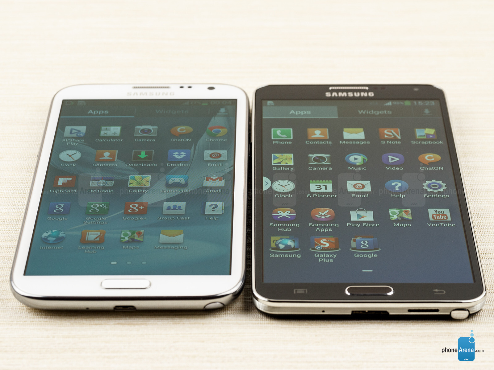 Samsung galaxy note 3 vs samsung galaxy note 2 for Housse telephone samsung galaxy note 3