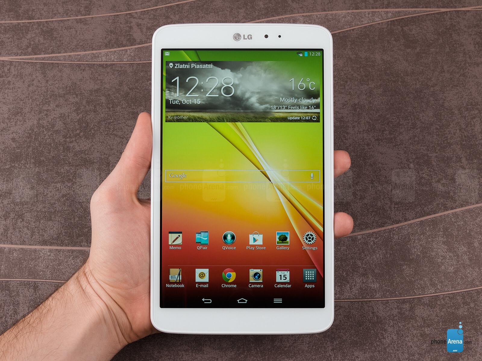 Đánh giá LG G Pad 8.3: Các tính năng nổi bật khác