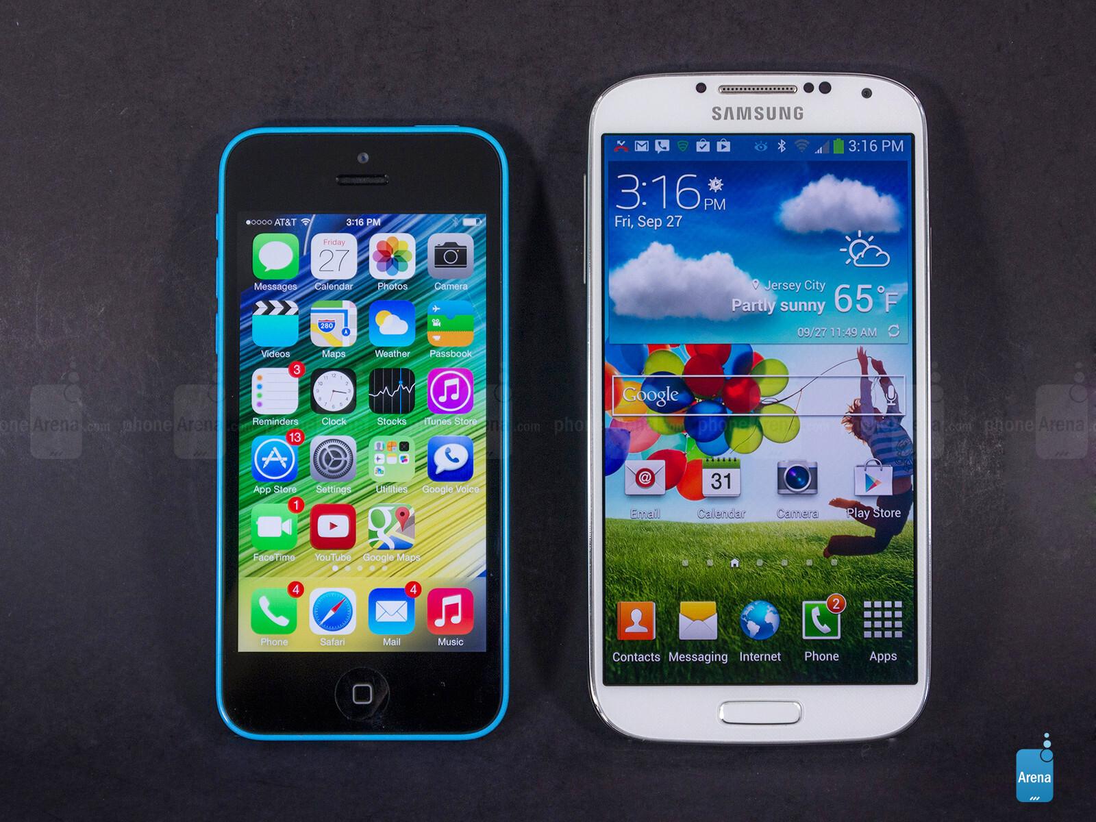 Samsung Galaxy S4 Vs Iphone 5 Price
