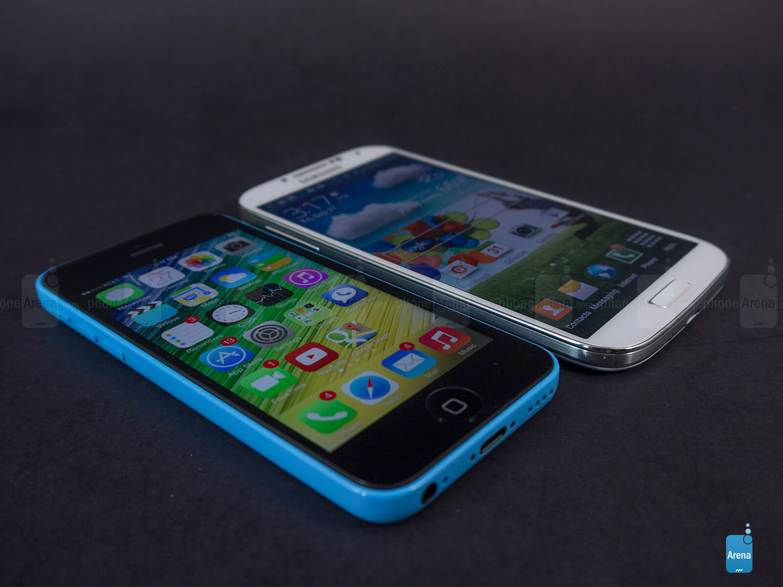 Iphone 5c vs galaxy s3