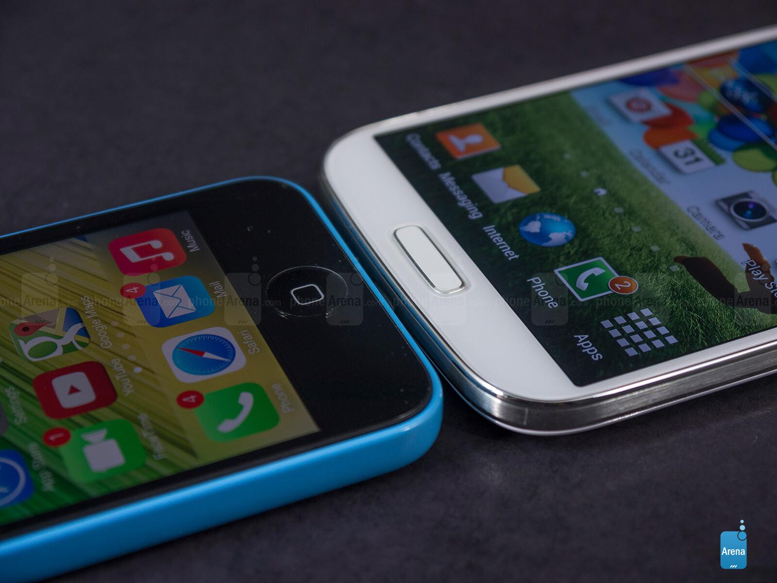 galaxy s4 battery life vs iphone 5