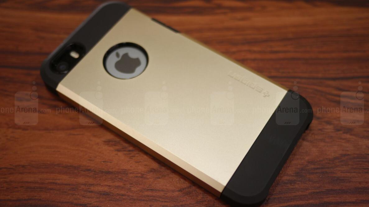 separation shoes 6ed42 261cf Spigen Apple iPhone 5s Tough Armor Case Review - PhoneArena
