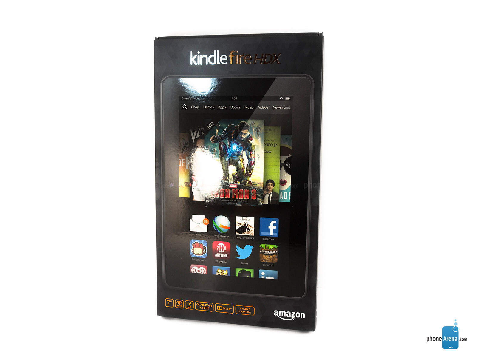 Kindle Fire Hdx Box