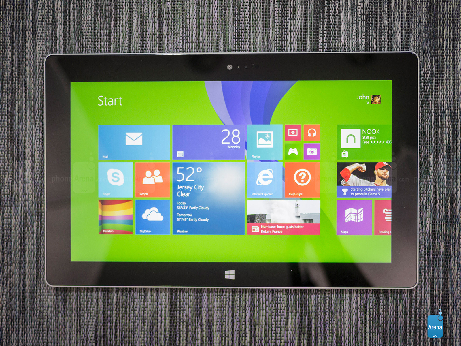 Microsoft surface 2 review for Surface atypique 92