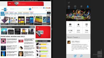Microsoft Surface 2 - Multi-tasking - Apple iPad Air vs Microsoft Surface 2