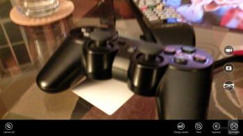 Camera UI of the Microsoft Surface 2 - Apple iPad Air vs Microsoft Surface 2