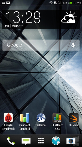 UI of the HTC One max - HTC One max vs Samsung Galaxy Note 3