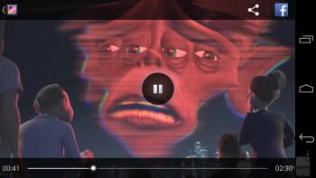 Watching videos on the Nexus 5 - Google Nexus 5 vs Motorola Moto X