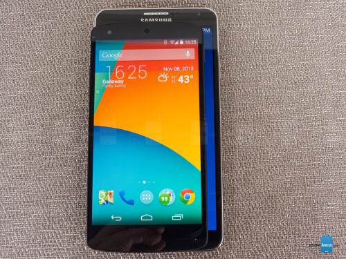 Google Nexus 5 vs Samsung Galaxy Note 3
