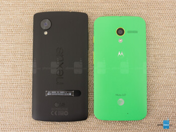 Google Nexus 5 vs Motorola Moto X