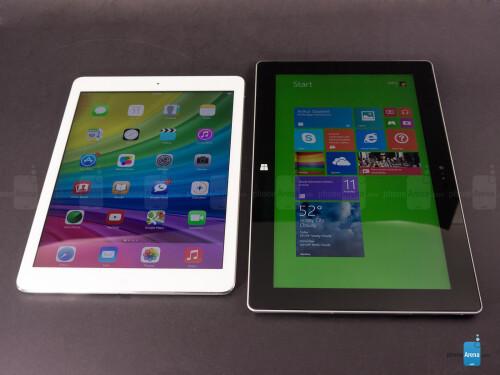 Apple iPad Air vs Microsoft Surface 2