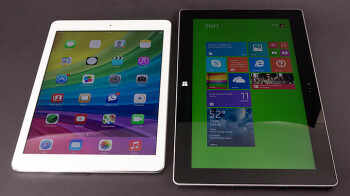Apple iPad Air vs Microsoft Surface 2