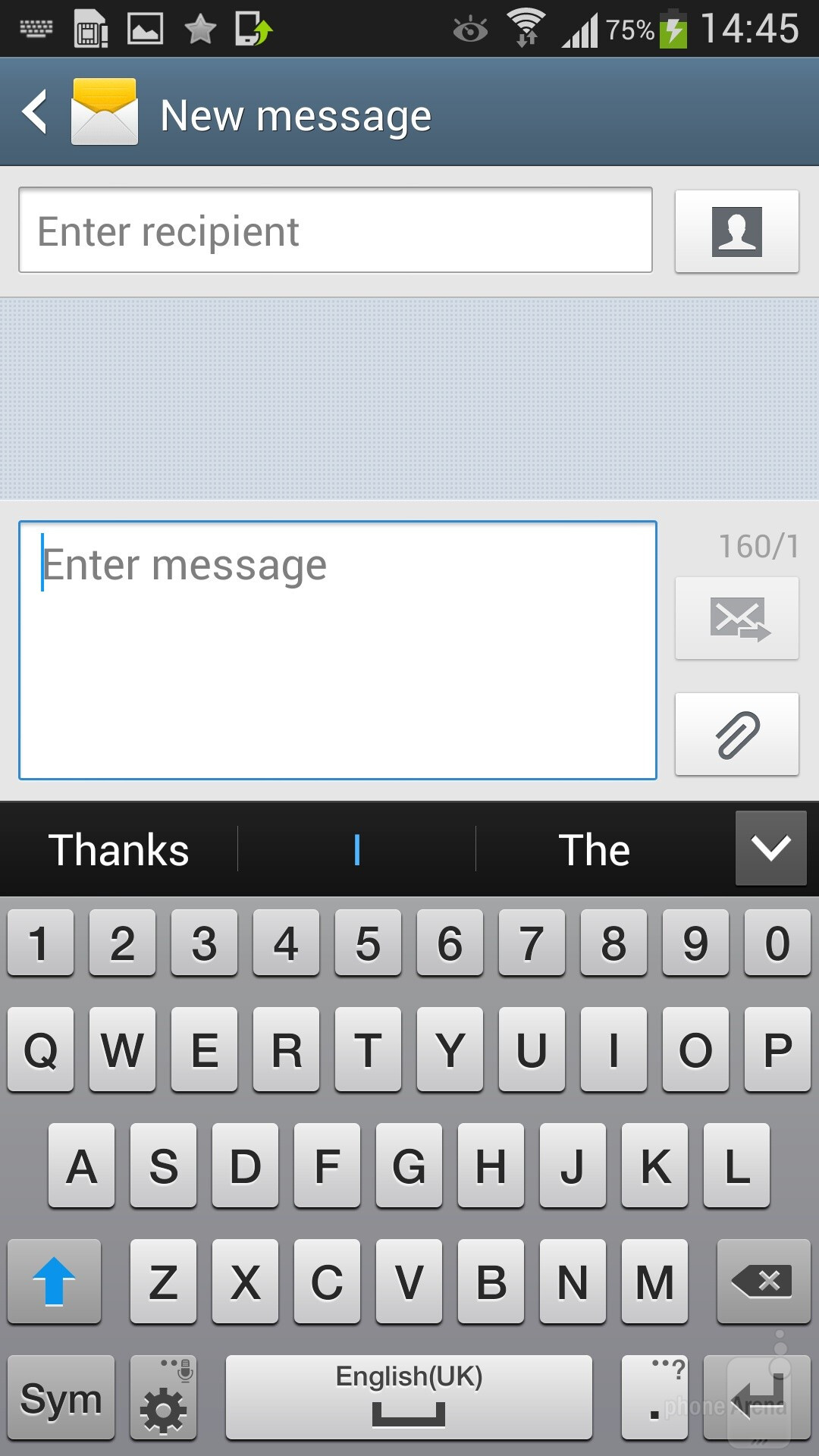 how to change size of text on samsung galaxy s4