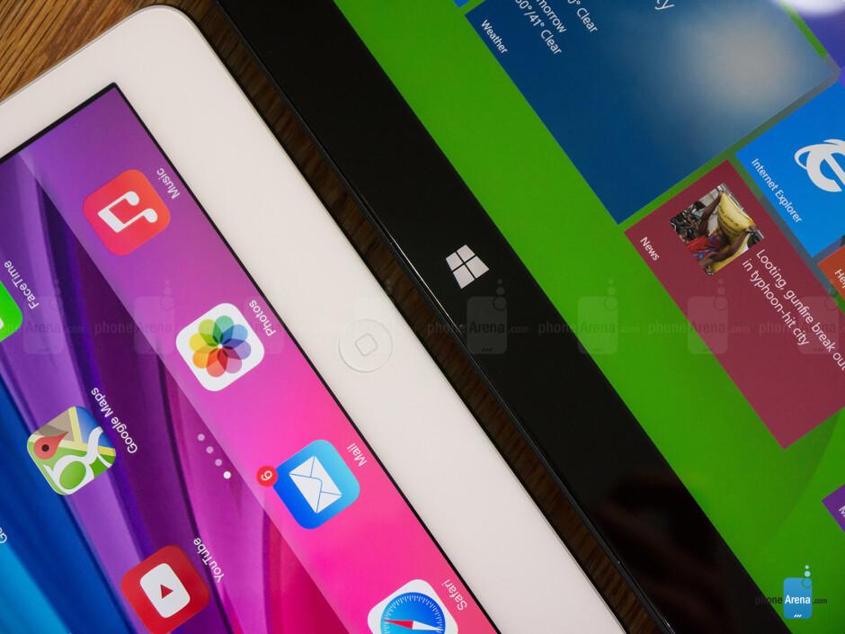 Apple iPad Air vs Microsoft Surface Pro 2