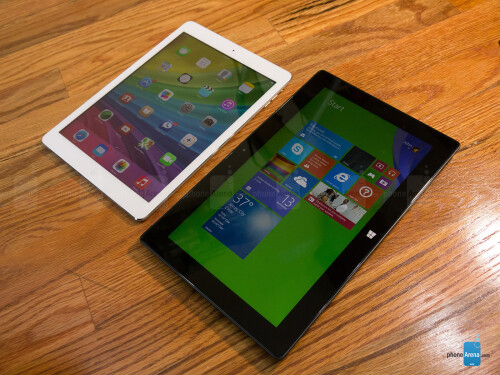 Apple iPad Air vs Microsoft Surface Pro 2
