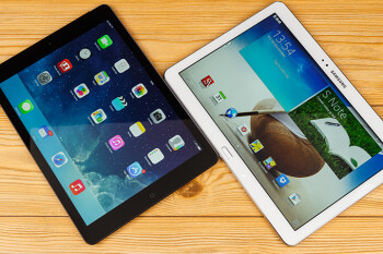 Apple iPad Air vs Samsung Galaxy Note 10.1 2014 Edition