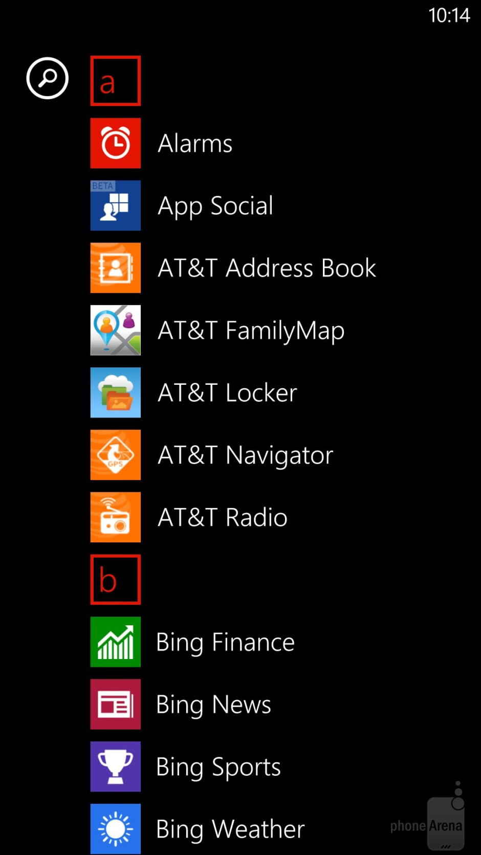 Interface of the Nokia Lumia 1520 - Samsung Galaxy S5 vs Nokia Lumia 1520