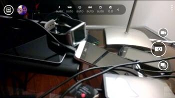 Camera interface of the Nokia Lumia 1520 - Samsung Galaxy S5 vs Nokia Lumia 1520