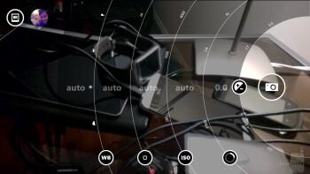 Camera interface of the Nokia Lumia 1520 - Nokia Lumia 1520 vs LG G2