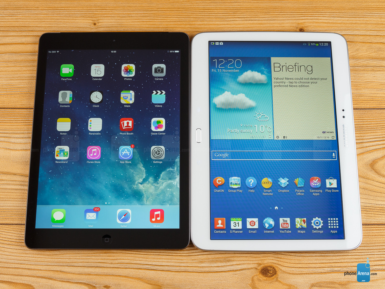 ipad vs galaxy tablet Find here comparison of apple ipad (2018) wi-fi vs samsung galaxy tab s2 97 vs samsung galaxy tab s2 8 tablets on the basis of screen size, storage, processor, ram, reviews, ratings and others .