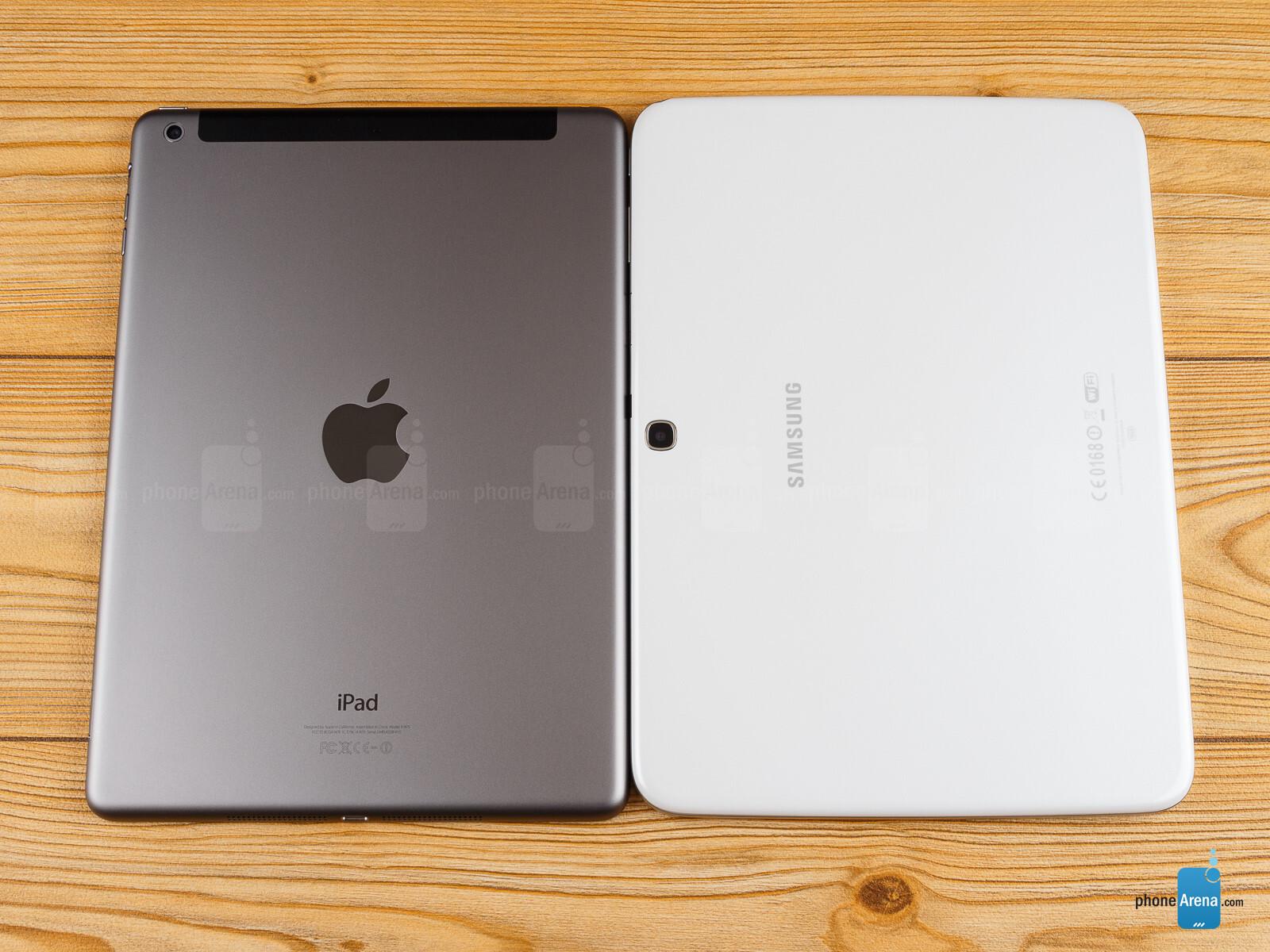 apple ipad air vs samsung galaxy tab 3 10 1