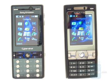 Left-K810, Right-K800 - Top-K800, Bottom-K810 - Sony Ericsson K810 Review