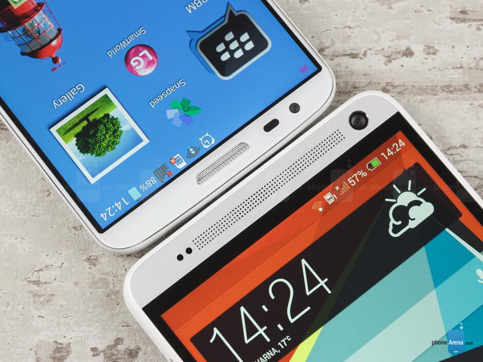 HTC One max vs LG G2