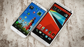 HTC One max vs LG G2