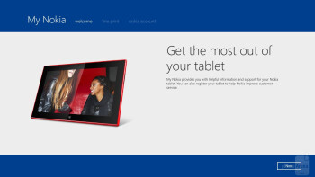 Nokia-branded apps on the Lumia 2520 - Nokia Lumia 2520 vs Microsoft Surface 2