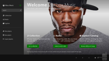 Music is handled by the XBOX Music player on both tablets - Video playback - Nokia Lumia 2520 vs Microsoft Surface 2