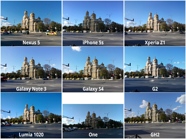 Camera Comparison Google Nexus 5 Vs IPhone 5s Sony Xperia Z1