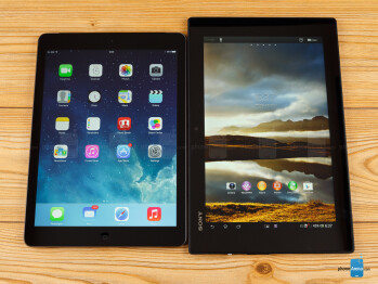 Apple iPad Air vs Sony Xperia Tablet Z