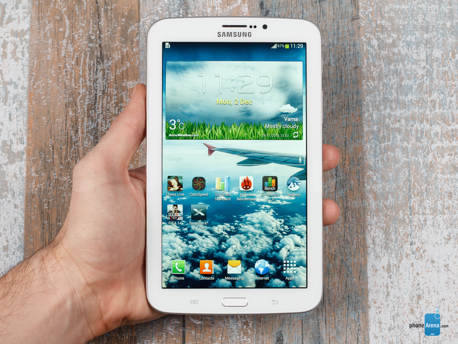 samsung galaxy tab 3 7 inch review phonearena. Black Bedroom Furniture Sets. Home Design Ideas