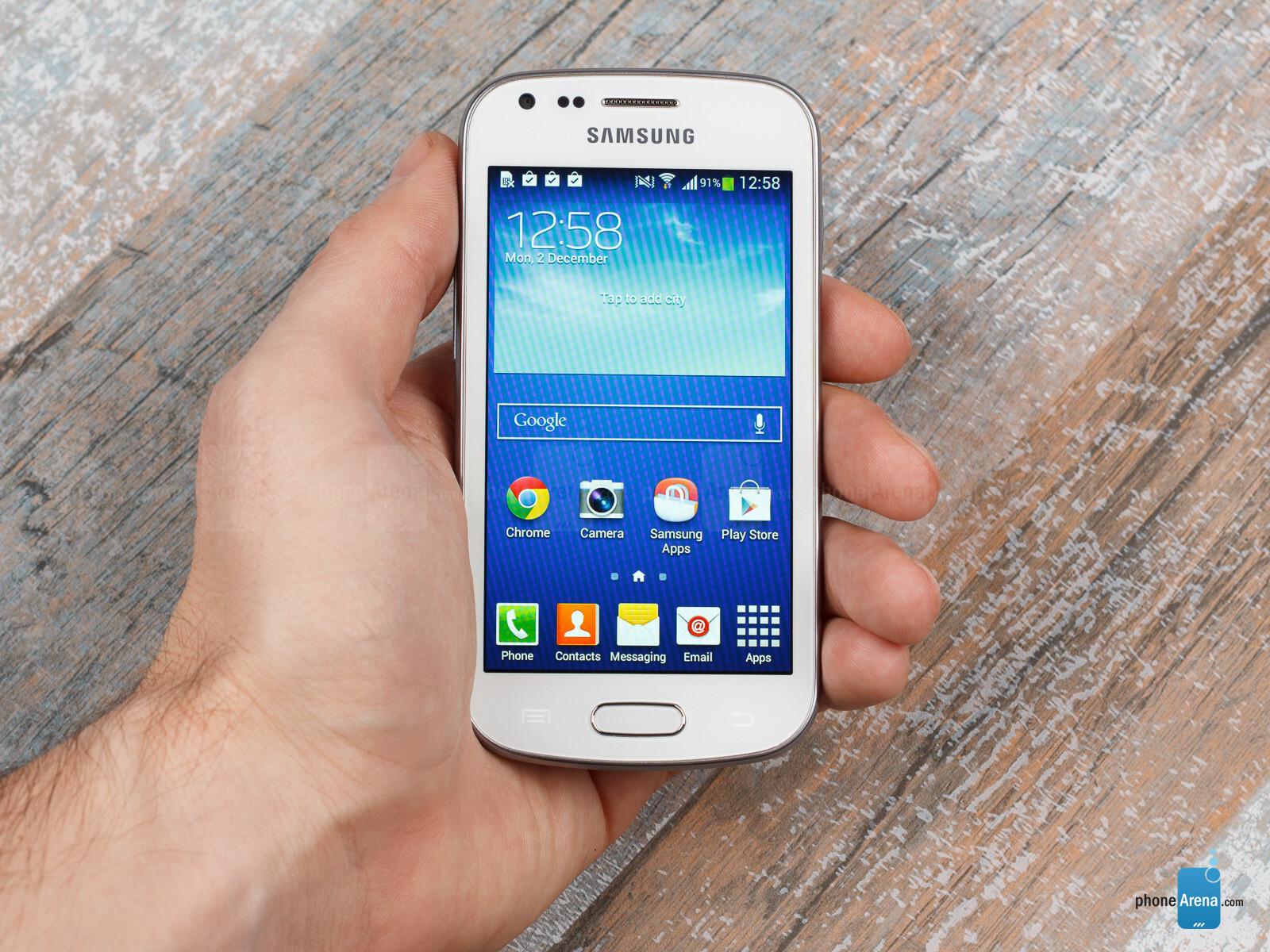 Thiết kế Samsung Galaxy Trend Plus