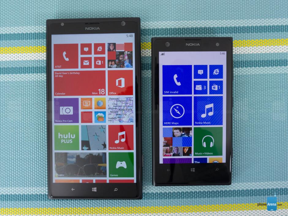 Nokia Lumia 1520 vs Nokia Lumia 1020
