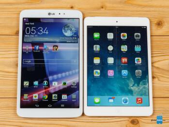 LG G Pad 8.3 vs Apple iPad mini 2 with Retina Display