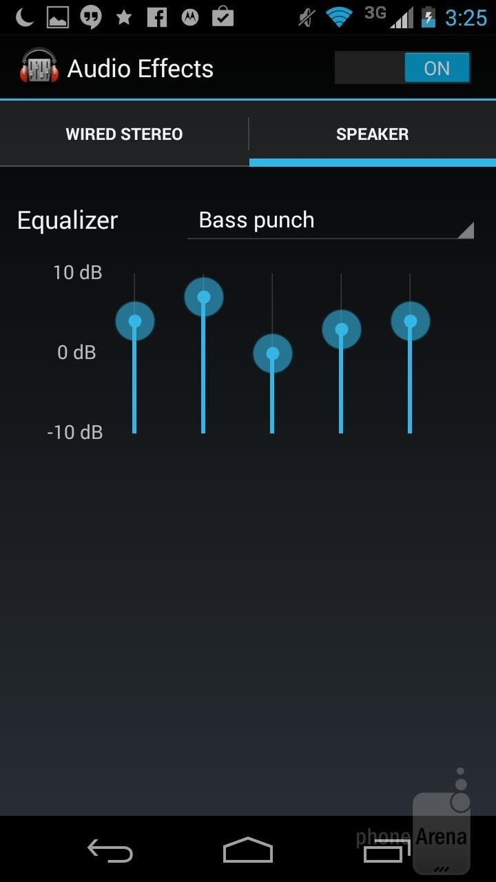 The two Moto Gs resort to the Google Play Music app as the default music player - Motorola Moto G 2014 vs Moto G 2013