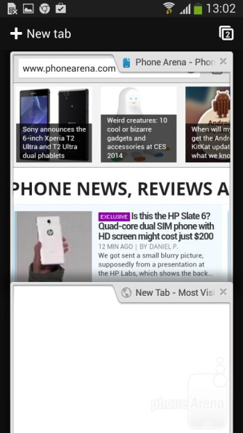 Browsing the web on the Samsung Galaxy Express 2 - Samsung Galaxy Express 2 Preview