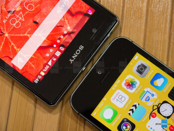 Sony Xperia Z1S vs Apple iPhone 5s