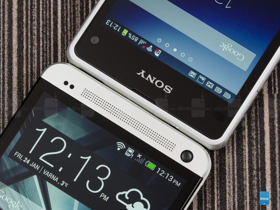 Sony Xperia Z1 Compact vs HTC One