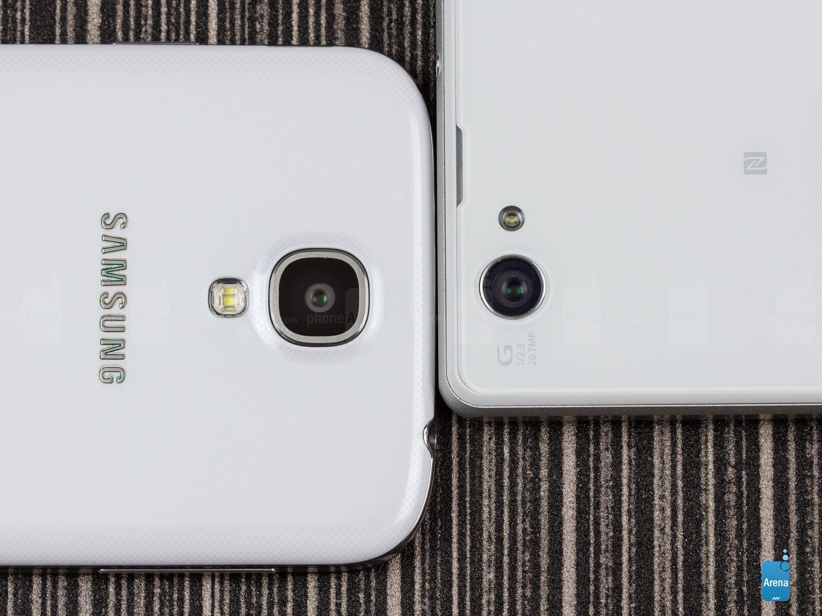 Sony Xperia Z1 pact vs Samsung Galaxy S4 05