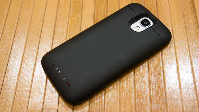 on sale 00155 d143b Mophie Samsung Galaxy S4 Juice Pack Review - PhoneArena