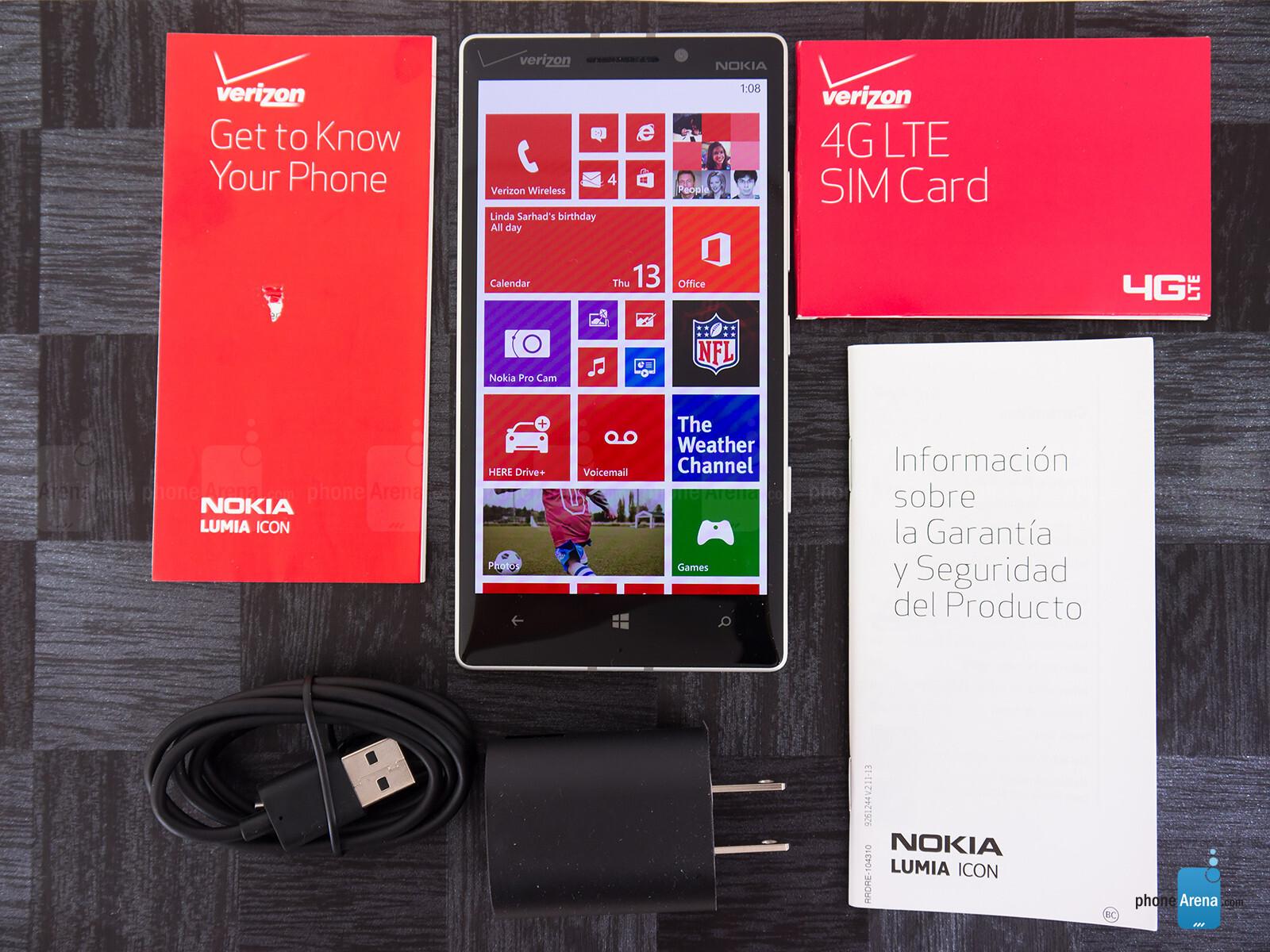 Sforum - Trang thông tin công nghệ mới nhất Nokia-Lumia-Icon-Review-001 Mở hộp Lumia Icon phiên bản nhà mạng Verizon