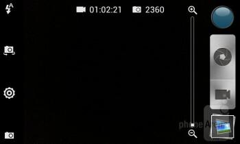 Camera UI - HTC Desire 501 Review