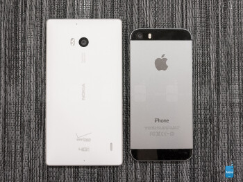 Nokia Lumia Icon vs Apple iPhone 5s