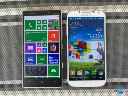 Nokia Lumia Icon vs Samsung Galaxy S4