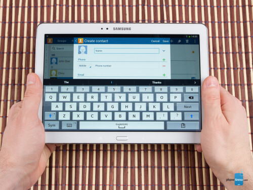 Samsung Galaxy Tab PRO 10.1 Preview