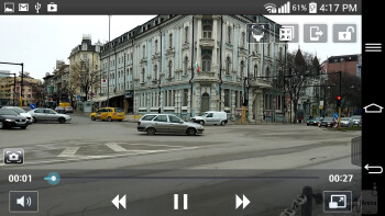 Video playback - LG G Pro 2 - LG G Pro 2 vs Sony Xperia Z1